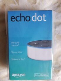 AMAZON ECHO DOT brand new white £40