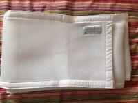 Airwrap mesh cot wrap bumper 2 sides