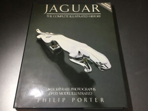 Jaguar Complete Illustrated History by Philip Porter E Type XKE