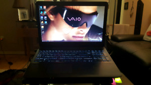 Sony Vaio AMD A10 laptop with Windows 10 8GB Memory 1TB HDD