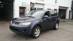 2008 Mitsubishi Outlander 203,000km AWD Alloys Sunroof Certified