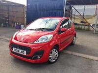PEUGEOT 107 ACTIVE 1.0, 2014 **ONLY DONE 16k MILES**GOOD SPEC**NEW M.O.T**VERY CLEAN CAR**BARGAIN!!
