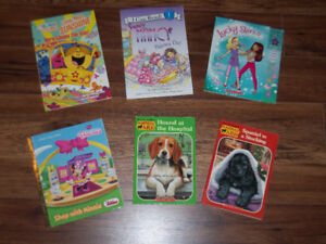 ENGLISH BOOKS FOR YOUNG READER AGES 5-8 *STARTING AT $2*
