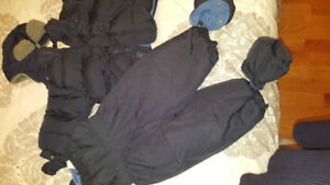 New boys clothes snow suit