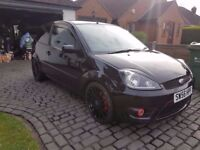 Ford Fiesta Zetec S 3 Door In Panther Black 1.6 Petrol