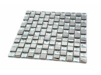 DIAMANTE MOSAIC TILES WITH MIRROR EFFECT, BLING SPARKLE RRP £29.99