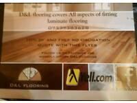 Laminate flooring fitting