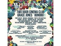 2X Wilderness FESTIVAL tickets + GENERAL CAMPSITE