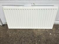2 x 1200 w x 600 h Single radiators used but excellent condition