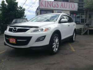 2012 Mazda CX-9 GT,NAVI, AWD,7-PASS, SUNROOF, BACK-UP CAM, LEATH