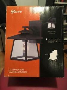 Outdoor light - new in the box
