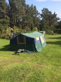 Suncamp 400 se trailer tent.
