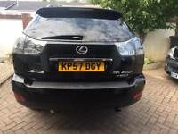07/57 LEXUS RX 400h HYBRID PETROL AUTOMATIC 4X4 LUXURY SUV COMPREHENSIVE HISTORY