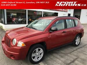 2007 Jeep Compass Sport! A/C! 4x4! 2 Sets of Tires! AS IS!