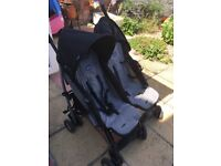 Chicco Double Buggy - bought 2nd hand, used condition usual wear & tear, including rain cover - £35