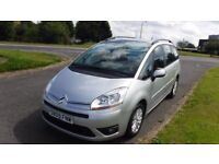 CITROEN C4 PICASSO 1.6 GRAND VTR PLUS,2009,7 SEATER,Alloys,Air Con,Cruisel,1 Previous Owner,F.S.H