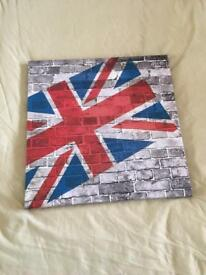 Union Jack/England canvas