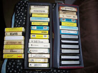 eight track tapes and players/recorder