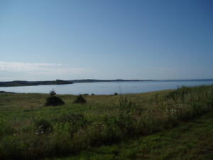 Ocean Front Building Lot in Cape Breton with well and septic