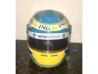 Fernando Alonso Signed Miniature Helmet- Limited Edition