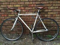Stylish city single speed bike in need of some TLC