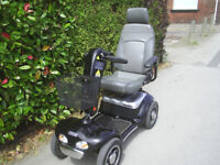 STERLING DIAMOND 8 MPH mobility scooter in black, good condition