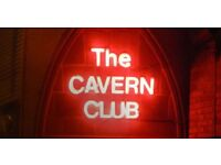 FEMALE SECURITY STAFF REQUIRED FOR THE CAVERN CLUB, LIVERPOOL