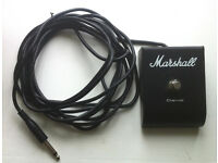 marshall footswitch, channel switch