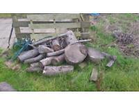 Cut logs firewood Balerno Kirknewton area