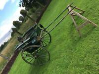 Governess horse cart