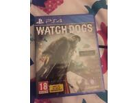 Watchdogs PS4 brand new