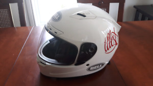 Casque de moto bell vortex, Snell approved