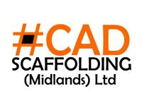 CAD Scaffolding (Midlands) Ltd - friendly, experienced & a professional service