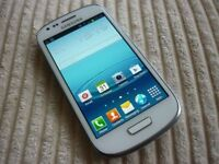 Samsung S3 Mini White Unlocked Excellent Condition