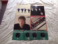 Job Lot of Beatles / John Lennon Vinyl (3 LPs / 4 Singles).