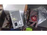 AMD Radeon R9 270 Graphics Card + Power supply for PC UPGRADE