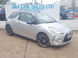 CITROEN DS3 1.6 DSTYLE PLUS 3d AUTO 120 BHP A GREAT EXAMPLE IN (silver) 2014