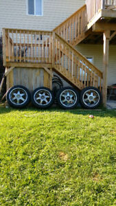 22 inch ford or Dodge 6 bolt rims and tires