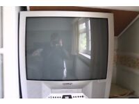 philips analogue tv with built in vhs