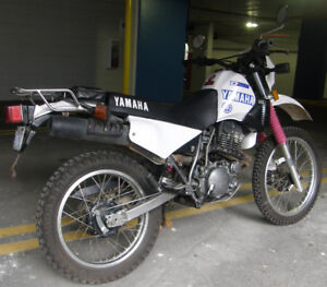 Dual Sport XT350 with Safety Check **$1950.**