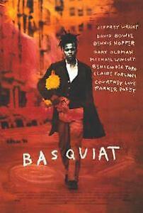 BASQUIAT MOVIE POSTER/1996 WITH DAVID BOWIE