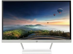HP 23XW Monitor 1080p HD Display