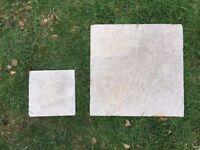Amazone Beige Modular Tumbled Tile