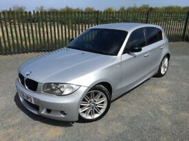 2008 58 BMW 118D M SPORT *DIESEL* 5 DOOR HATCHBACK 6 SPEED MANUAL - *MAY 2018 M.O.T* - GOOD EXAMPLE!