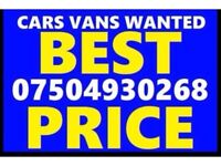 07504 930268 SELL YOUR CAR 4x4 FOR CASH BUY MY SCRAP COMMERCIAL I