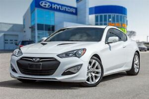 2015 Hyundai Genesis Coupe 3.8  Premium, 6 Speed!, Sunroof!
