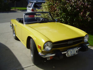 Triumph TR 6 excellent condition - only 2 owners