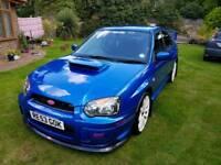 2003 Subaru Impreza 2.0 WRX STI Blue 56K Miles