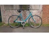 Women's retro Raleigh Chiltern Pioneer town bike