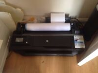HP Designjet T120 A1 Plotter CQ891A - perfect condition